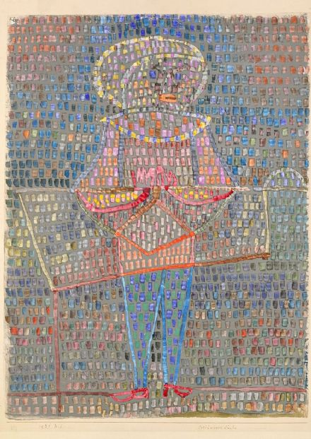 Klee, Paul: Boy in Fancy Dress. Fine Art Print/Poster (4991)